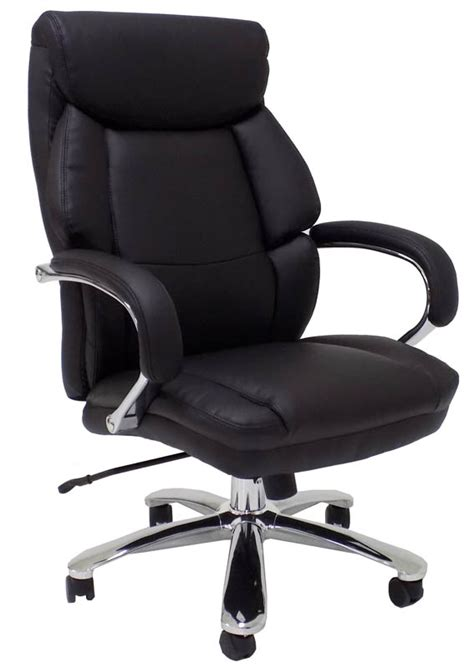 Xtra Office Chairs by Wide 500 Lbs Capacity Leather Office Chair W 24 Quot W Seat