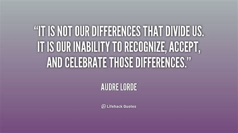 audre lorde quotes difference quotesgram