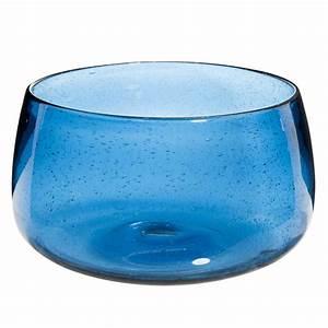 Saladier En Verre : saladier en verre bull bleu maisons du monde ~ Teatrodelosmanantiales.com Idées de Décoration