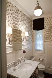 wallpaper ideas for bathrooms chic lighting david hicks pendant