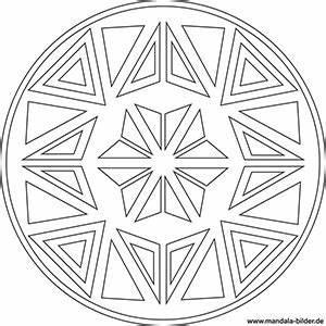 Mandala Malvorlageben Mit Symbolen Fr Kinder Und Erwachsene