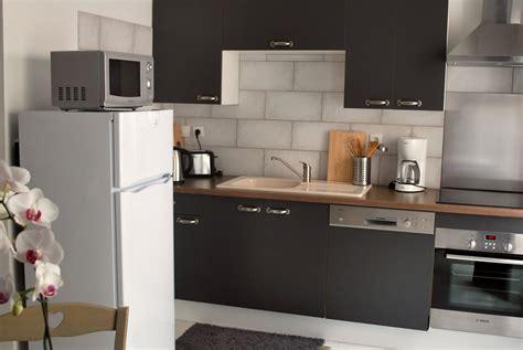cuisine charentaise appartement curiste en location à jonzac