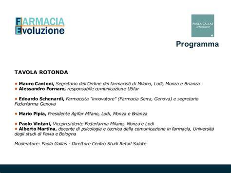 Ordine Farmacisti Pavia by Farmacia Dei Servizi