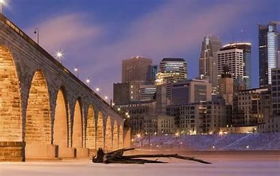 Minneapolis Arch Bridge Stone Cool Desktop Wallpapers