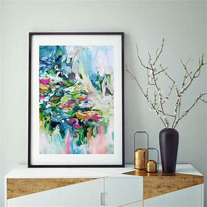 Abstract, Art, Print, Modern, Vibrant, Framed, Artwork, By, Abstract, House