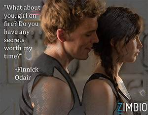 Finnick Gets Personal - 'Catching Fire' Quotes - Zimbio