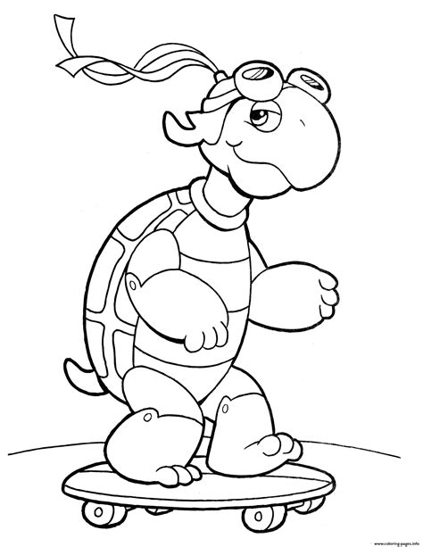 crayola turtle coloring pages printable