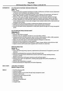 fine gas turbine power plant operator resume gift resume With boilermaker resume template
