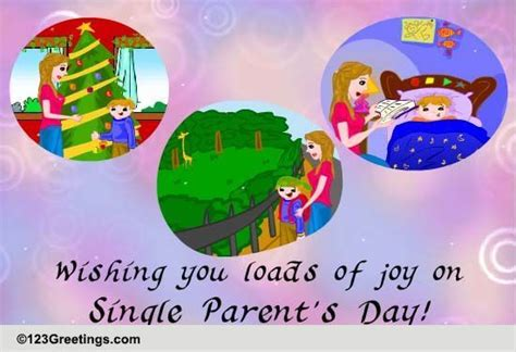 single parents day wishes  single parents day