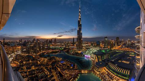 Burj Khalifa Uae Sunset View Dubai Sky Tower Wallpaper