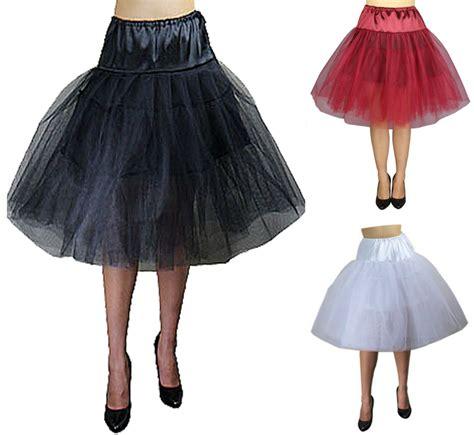 cst petticoat rock tuell unterrock schwarz zum er kleid