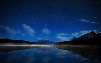 Sky Night 4k Star Filled Walldevil