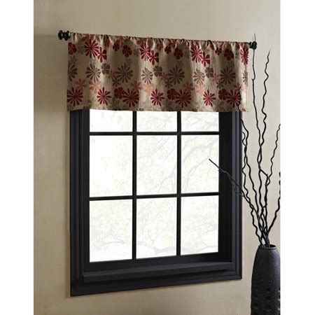 Window Spice Garden by Better Homes And Gardens Manolo 50x18 Valance Spice