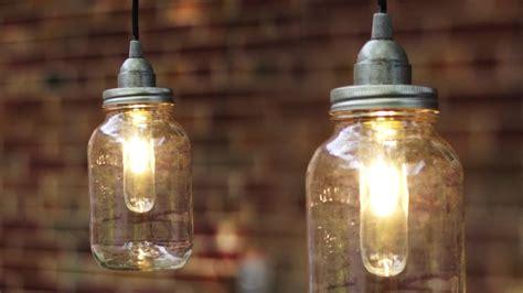 diy mason jar light lantern youtube