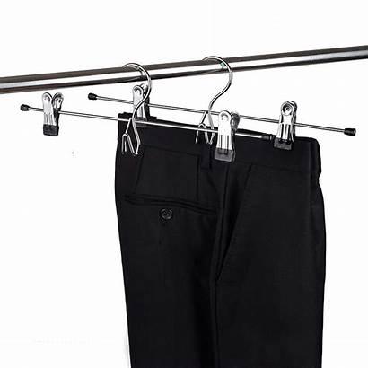Hangers Pants Metal Clip Hook Skirt Trousers