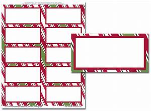 Holiday address labels holiday stripes mailing labels for Holiday mailing labels
