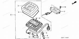 Honda Atv 2004 Oem Parts Diagram For Meter