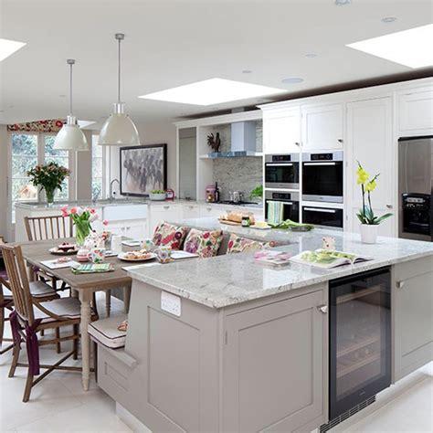 island units for kitchens pale grey kitchen with island unit kitchen decorating housetohome co uk