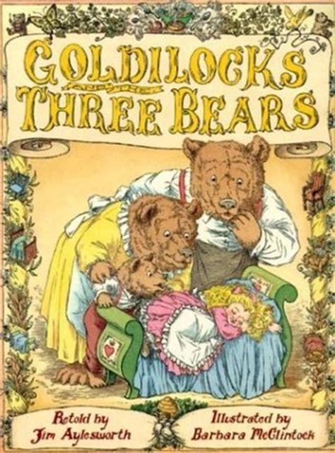 goldilocks    bears  jim aylesworth