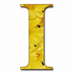 GRANNY ENCHANTED'S BLOG: Free Yellow Floral Alphabet