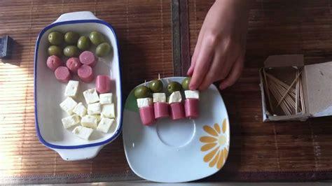 bocadillos para fiestas pinchos de aperitivo