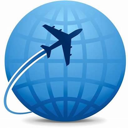 Travel Icon Abroad Clipart International Trip Domestic