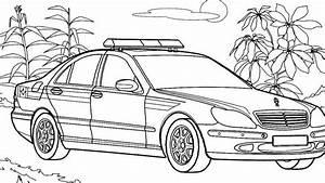 Ausmalbilder Polizeiauto Mercedes Ausmalbilder Von