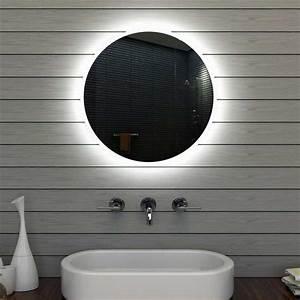 Badspiegel Rund Mit Beleuchtung : badezimmerspiegel design f gen sie sch nheit und funktion zu ihrem badezimmer ~ Indierocktalk.com Haus und Dekorationen