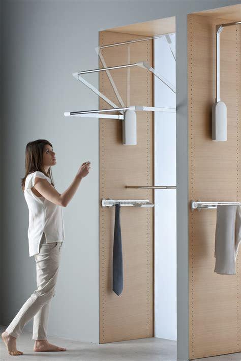 electric lift pull  wardrobe rail