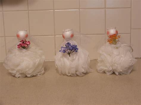 wedding shower loofah party favor diy crafts pinterest