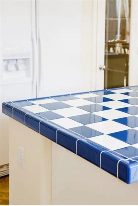 best tile for countertop kitchen best types of tile for kitchen countertops overstock 7789