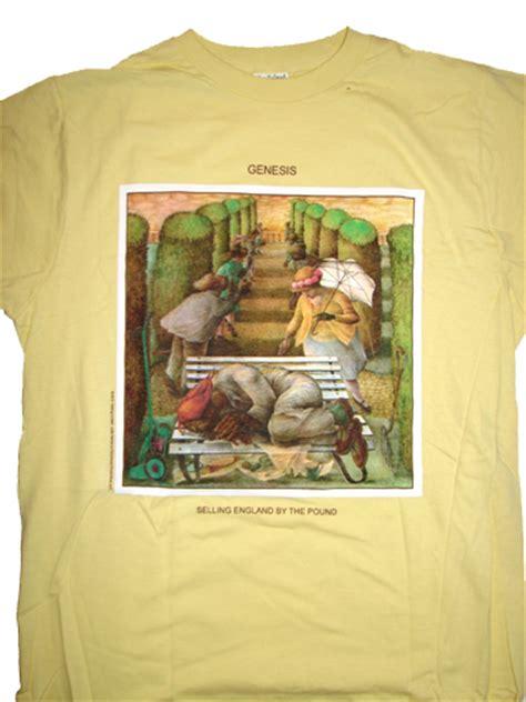 genesis selling england   pound shirt woodstock