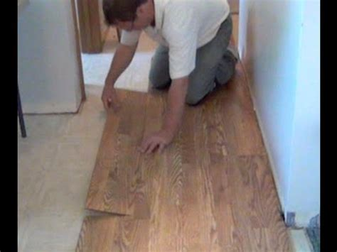 how to install laminate flooring youtube