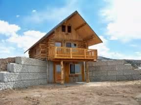 walk out basements virginia city log cabin