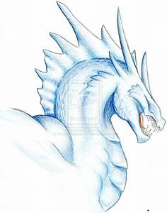 Blue Ice Dragon by BrokenRapture781 on DeviantArt