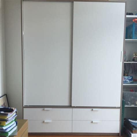 Ikea Schrank Trysil by Ikea Trysil Wardrobe Furniture Shelves Drawers On
