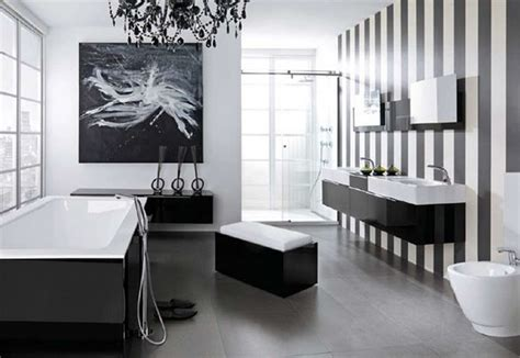 Glamorous Black And White Bathroom Ideas