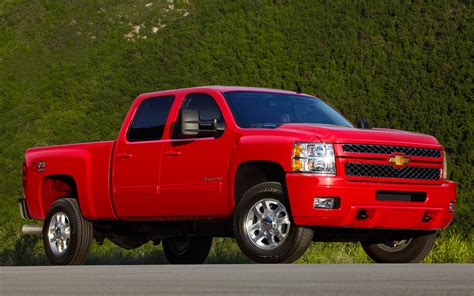 chevrolet silverado hd   appearance front