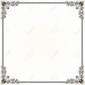 home officeornate border stock illustrations cliparts With word documents frames
