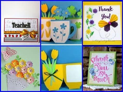simple handmade teachers day cards  diy ideas