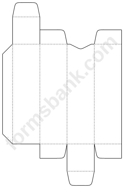 lip balm box template printable