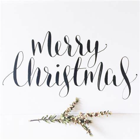 Merry Christmas calligraphywillowandink com au