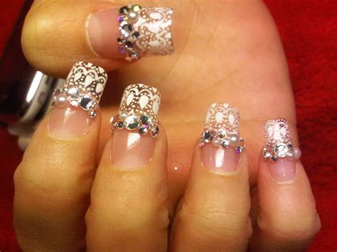 bling nail designs top 10 most attractive rhinestone nail designs