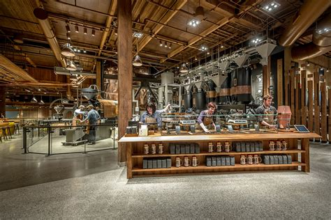 The World's Largest Starbucks In Seattle, Washington