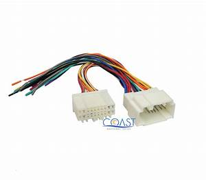 Car Stereo Radio Wire Harness To Factory Harness For 2003