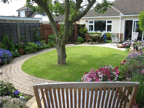 Design A Backyard by Small Garden With Tree Search Curb Appeal And