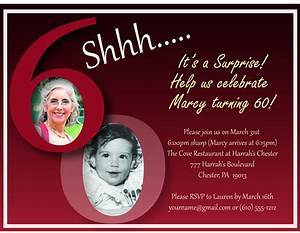 60th birthday invitation templates best template collection With 60th birthday invites free template