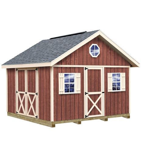 timber shed kits best barns fairview 12 ft x 12 ft wood storage shed kit
