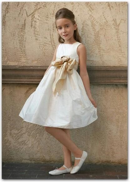 ivory colored dresses style fg038 ivory colored flower dresses