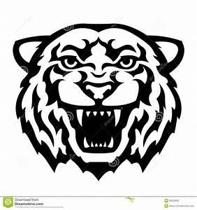 Dessin Jaguar Facile : tatouage de t te de tigre illustration de vecteur illustration du dents 35529560 ~ Maxctalentgroup.com Avis de Voitures